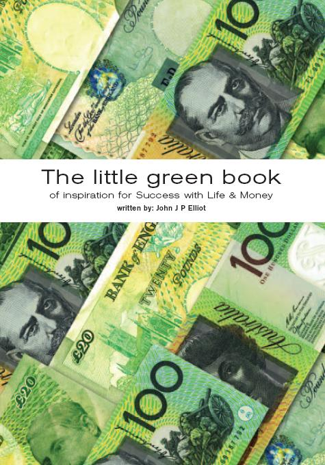 The front cover of The Little Green Book